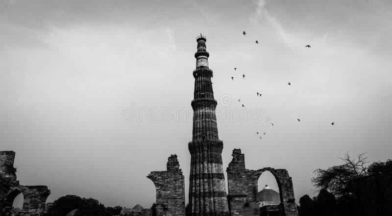 Qutub Minar 2 στοκ φωτογραφία με δικαίωμα ελεύθερης χρήσης