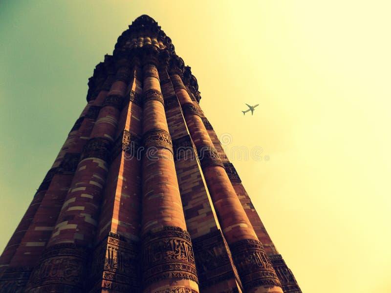Qutub Minar royalty-vrije stock fotografie