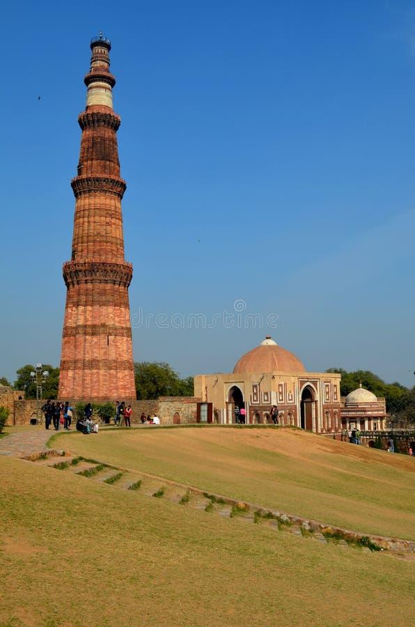 Qutub Minar foto de stock