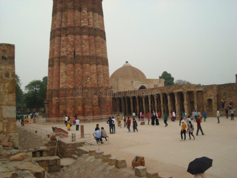 Qutub Minar photo stock