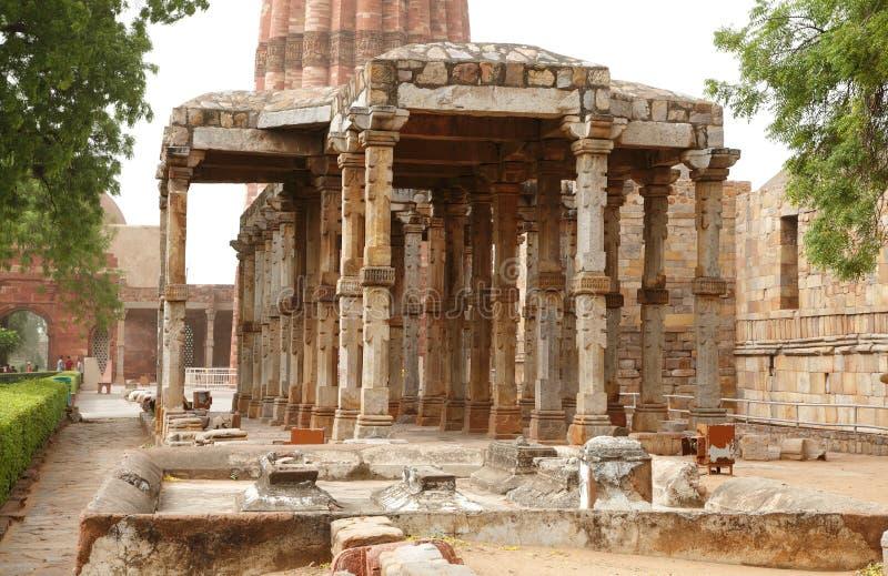 Qutub Minar, Delhi, Indien lizenzfreie stockfotografie