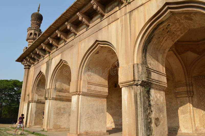 Qutub shahi tombs in Hyderabad stock photos