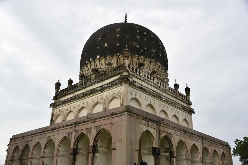 Qutubshahi-Gräber, Hyderabad, Telengana, Indien lizenzfreies stockfoto