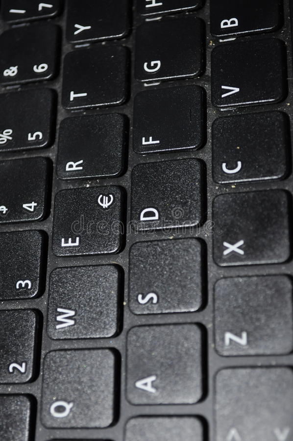 qwerty πληκτρολογίων στοκ εικόνα με δικαίωμα ελεύθερης χρήσης