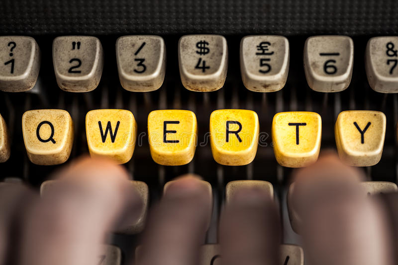 qwerty images stock
