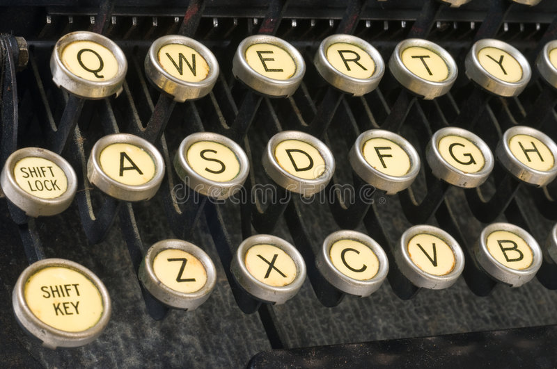 QWERTY obrazy stock