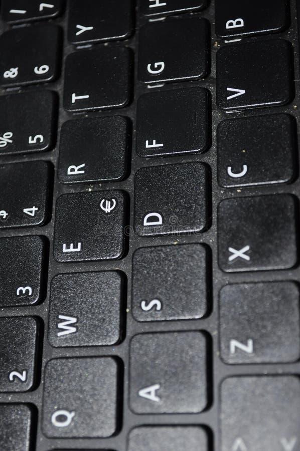 QWERTYtastatur lizenzfreies stockbild