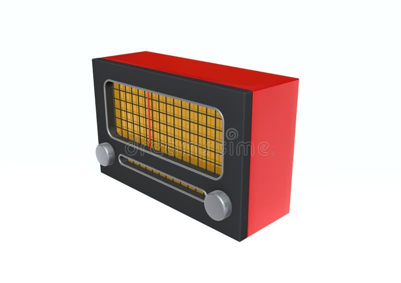 Rádio ilustração do vetor