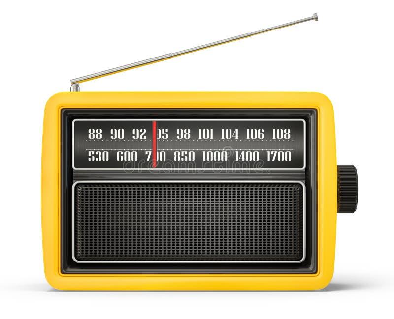 Rádio ilustração stock