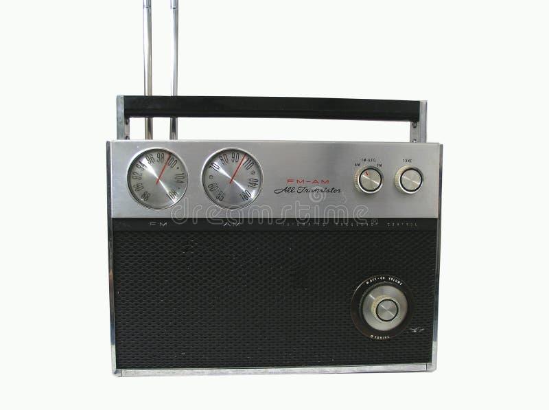 rádio 70s fotografia de stock