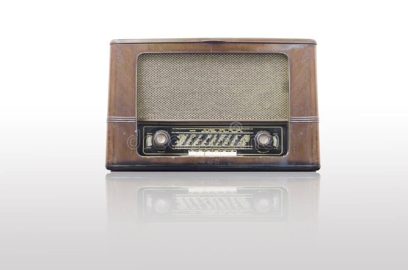 Rádio antigo foto de stock royalty free
