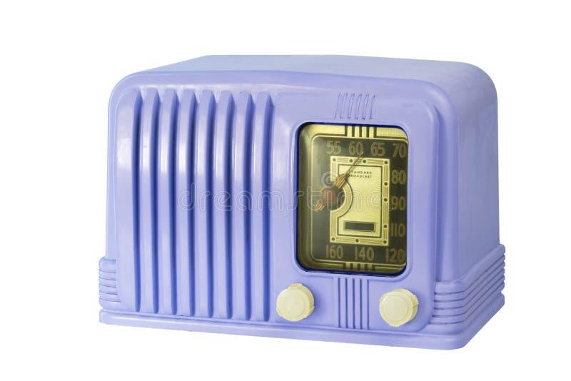 Rádio antigo 05 do tubo da baquelite fotografia de stock royalty free