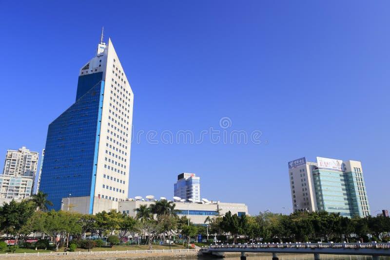 Rádio da cidade de Xiamen e construção da televisão imagens de stock
