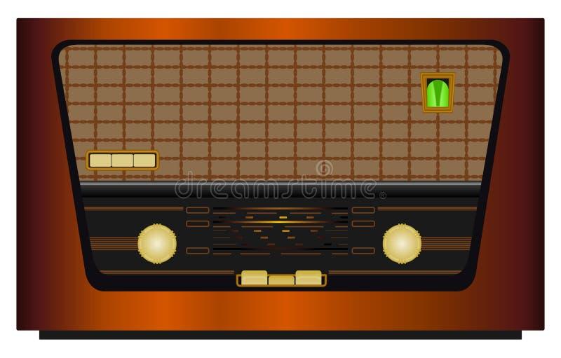 Rádio de Repro ilustração do vetor