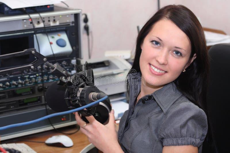 Rádio DJ foto de stock