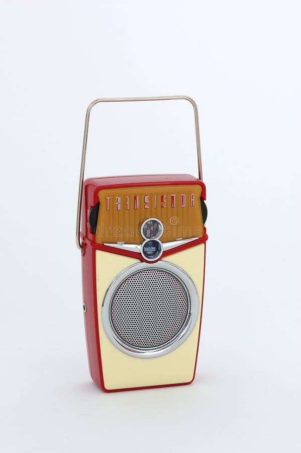Rádio do transistor fotografia de stock