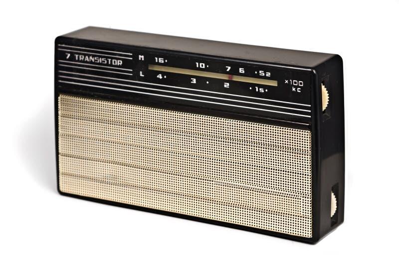 Rádio do transistor do vintage mais recevier fotos de stock royalty free