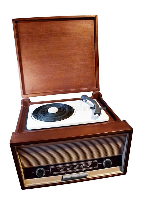 rádio do vintage 50s fotografia de stock