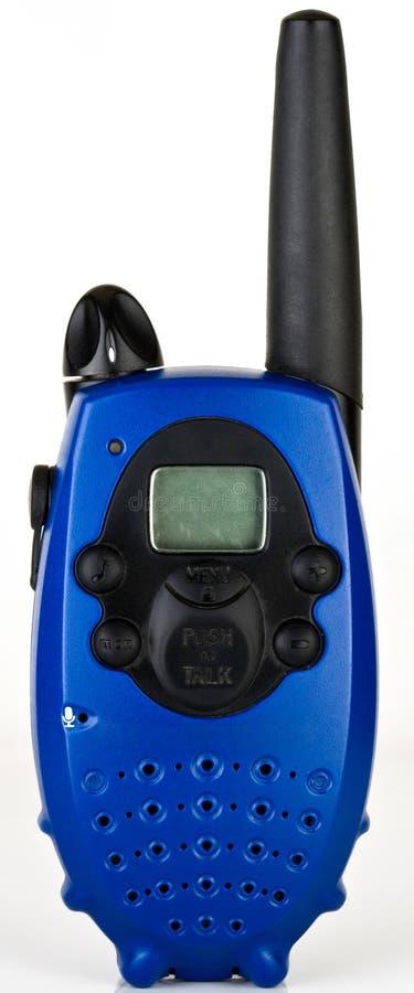 Rádio Handheld em dois sentidos portátil fotografia de stock