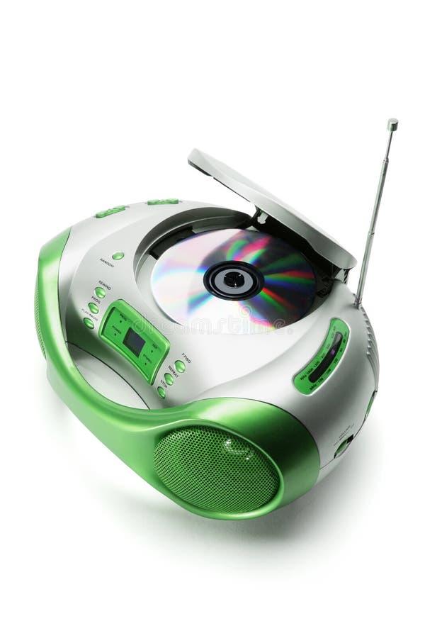 Download Rádio Portátil E Reprodutor De CDs Foto de Stock - Imagem de compact, disco: 16864886