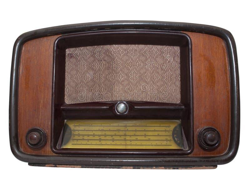 Rádio retro imagem de stock royalty free