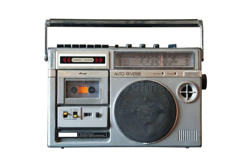 Rádio retro imagens de stock