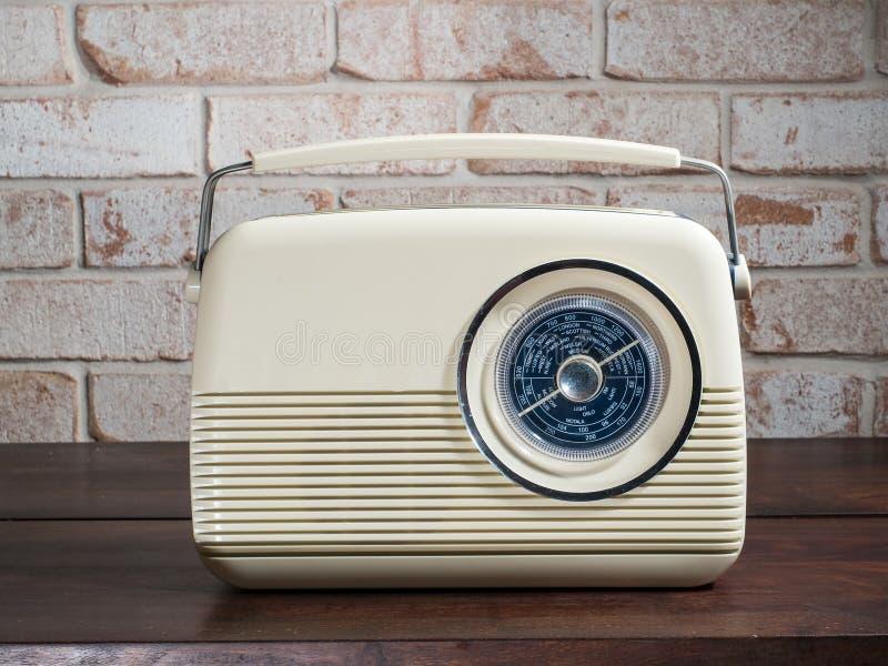 Rádio retro imagem de stock