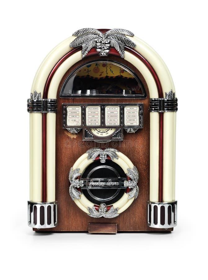 Rádio retro do jukebox imagens de stock