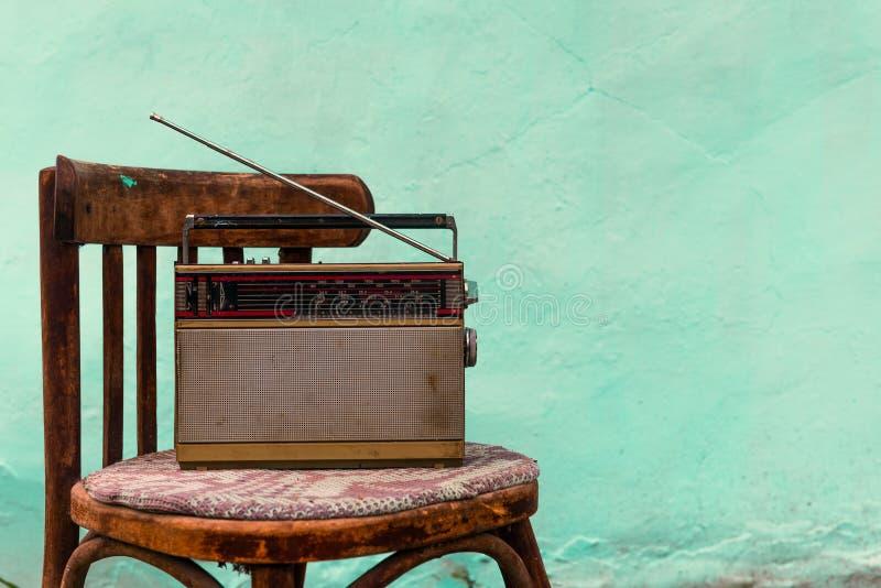 Rádio velho imagem de stock royalty free