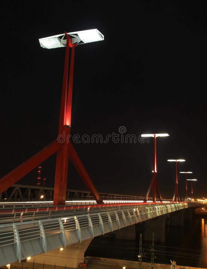 Rákóczi-Bridge royalty free stock photo
