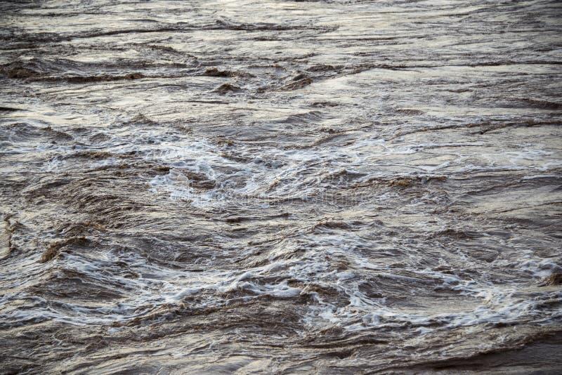 Rápidos en agua fría gris foto de archivo libre de regalías