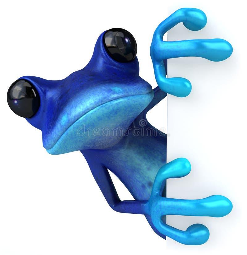 Râ azul ilustração do vetor