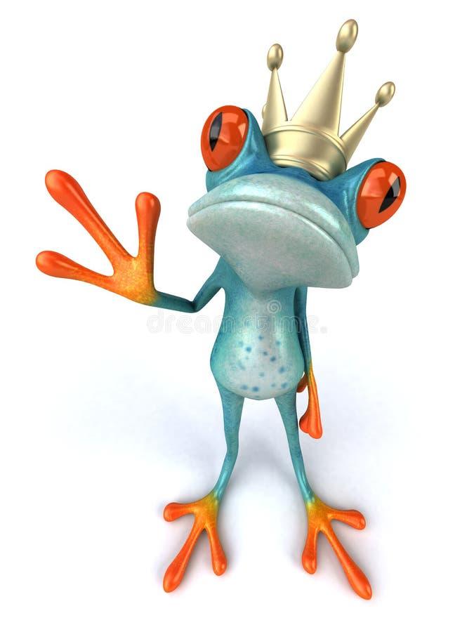 Râ azul ilustração royalty free