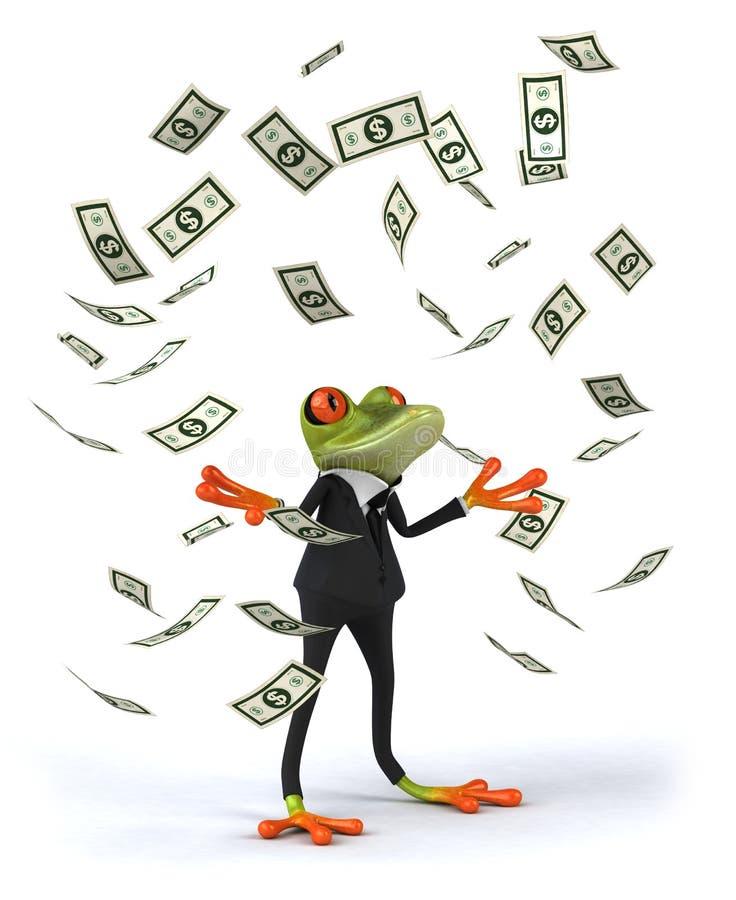 Râ do negócio ilustração royalty free