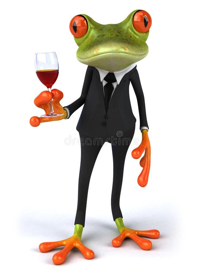 Râ e vinho ilustração royalty free