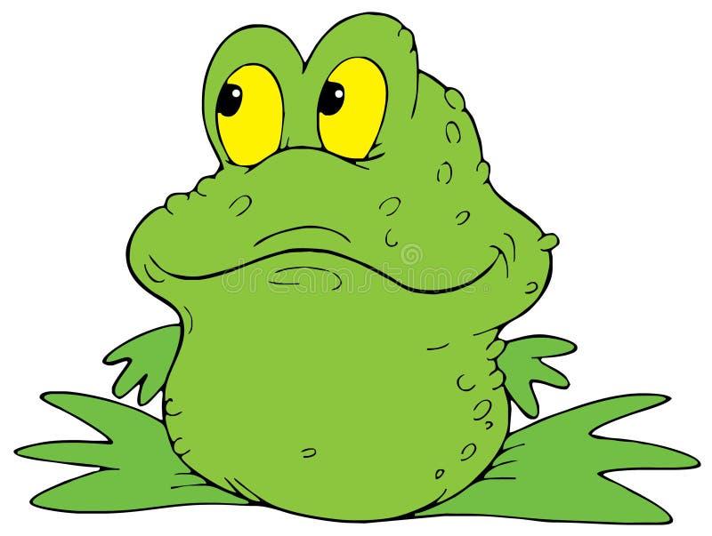 Râ verde ilustração royalty free