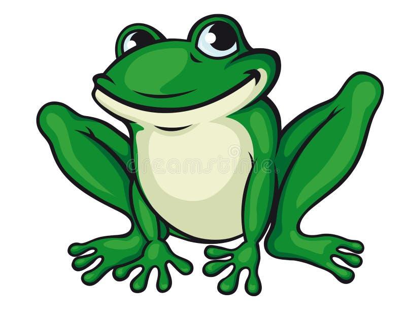 Râ verde grande ilustração do vetor