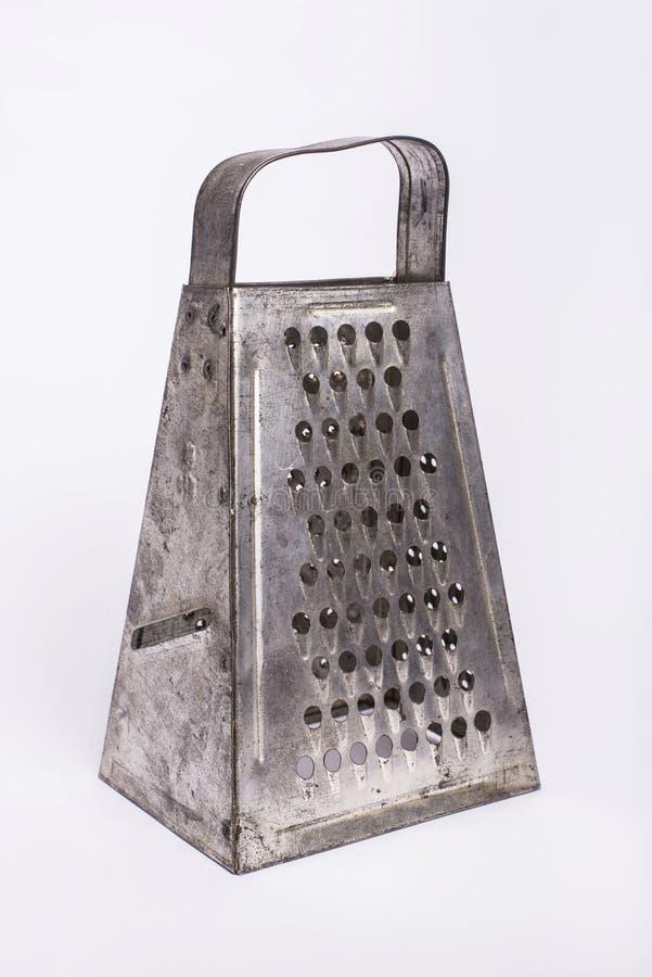 Râpe en métal de vintage acuité photographie stock libre de droits