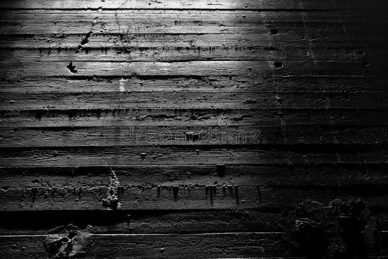Râtelage du mur en béton de structure légère, Landschaftspark, Duisbourg, Allemagne images libres de droits