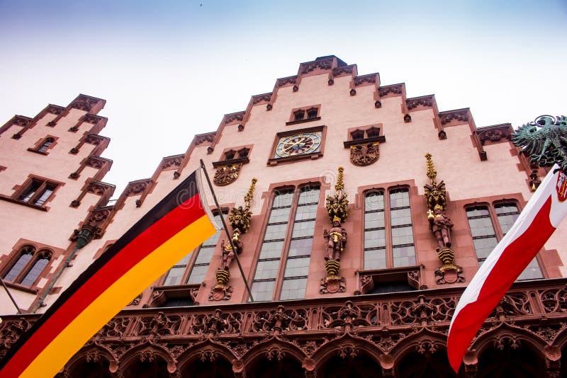 RömerRathaus, Frankfurt stockbild