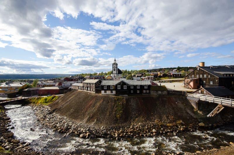 Røros/Roros στοκ εικόνα με δικαίωμα ελεύθερης χρήσης