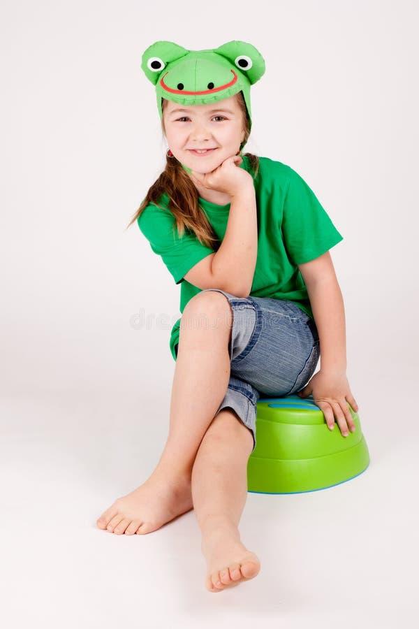 Rã da criança fotografia de stock royalty free