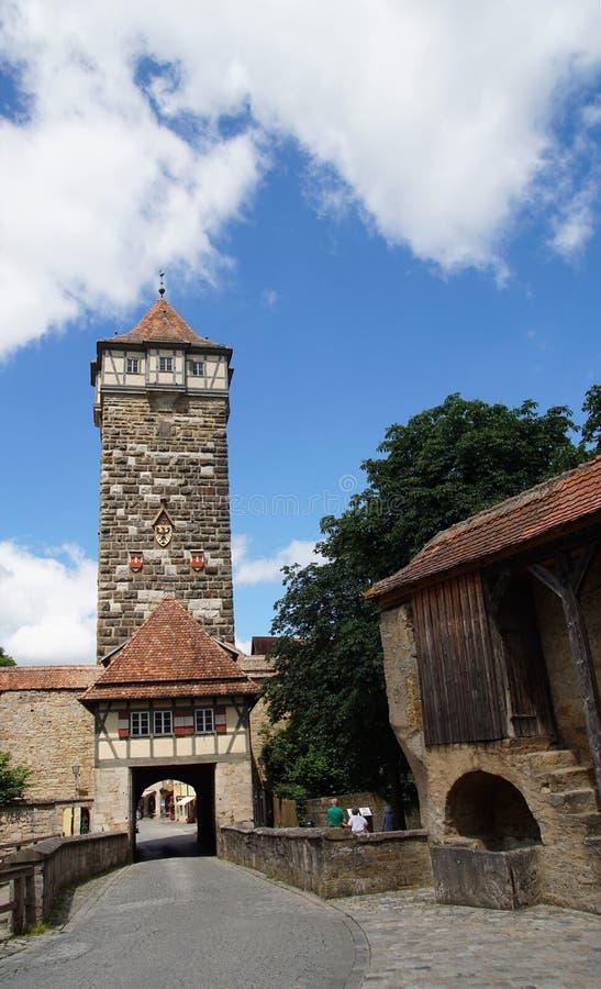 Röder塔 免版税库存图片