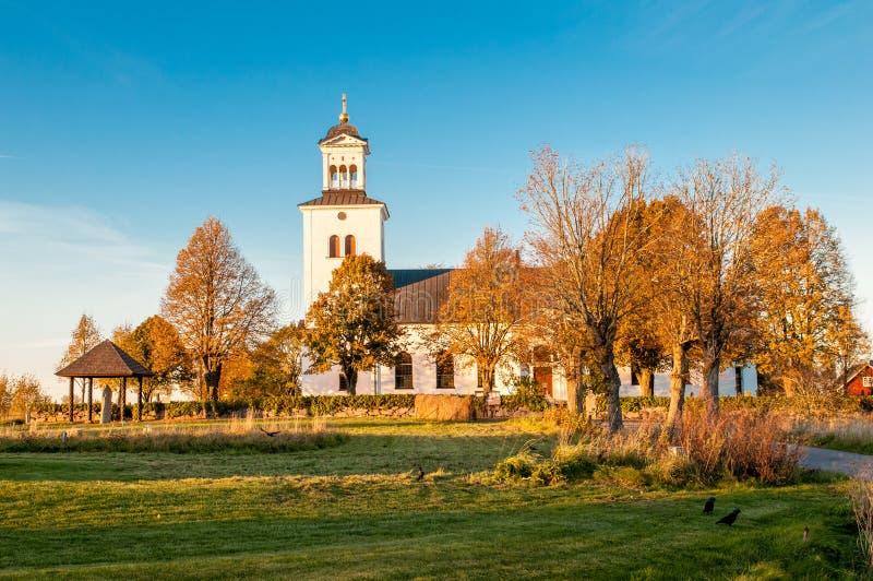 Rök kościół, Szwecja zdjęcia stock