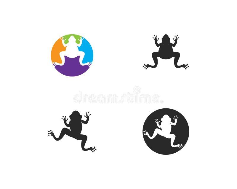Rã Logo Template ilustração royalty free