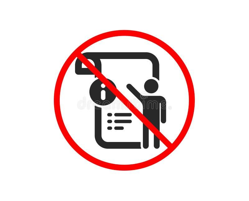 Ręczna doc ikona Techniczny instrukcja znak wektor ilustracja wektor