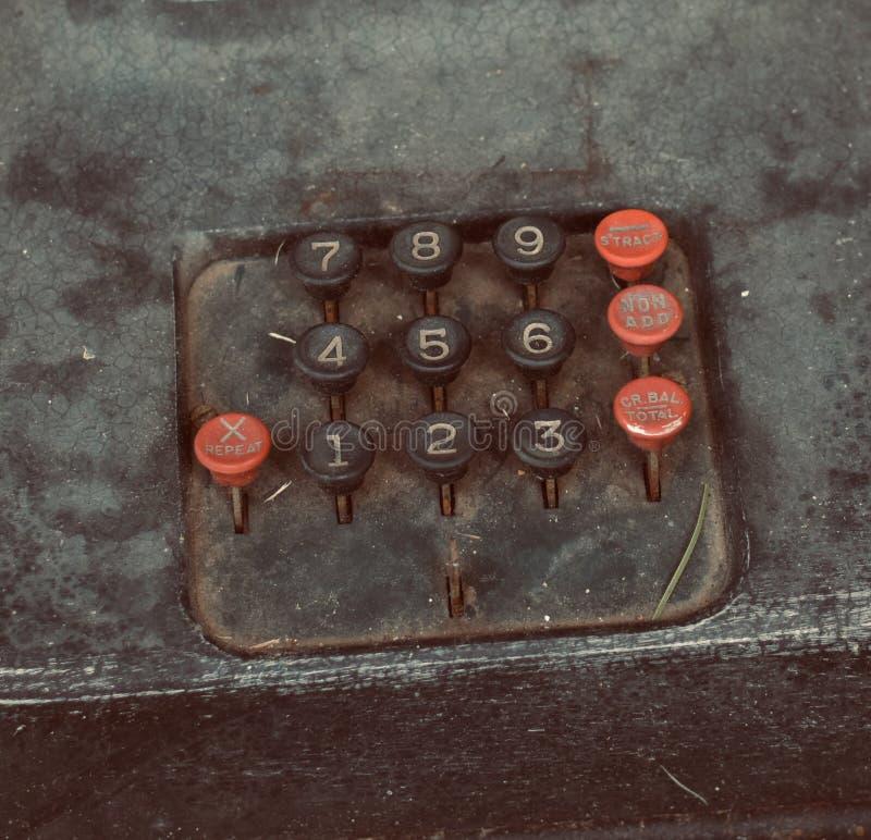 Ręczny kalkulator zdjęcie stock