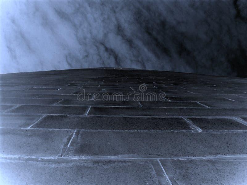 Räckvidd för molnen royaltyfri foto