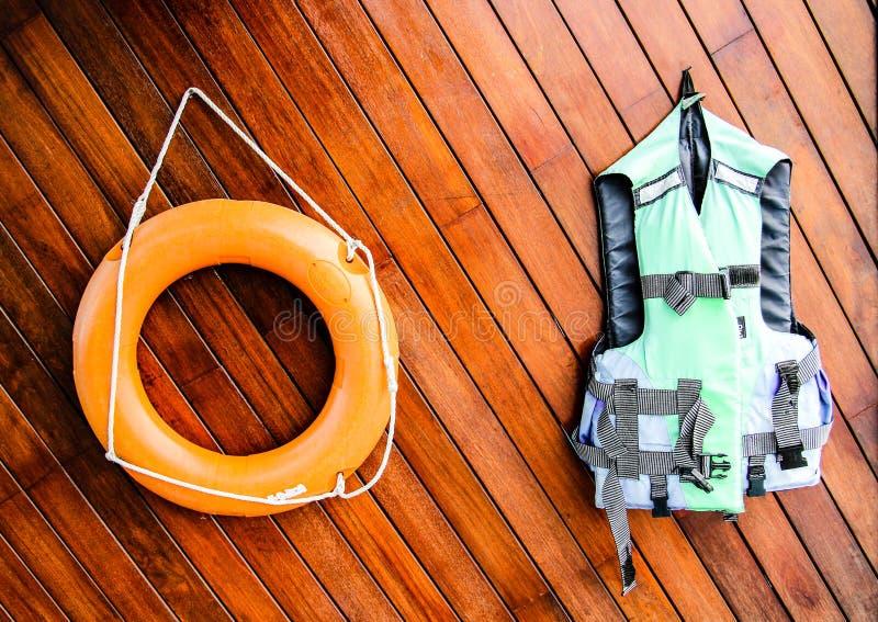 Räddningsaktionutrustning arkivbild