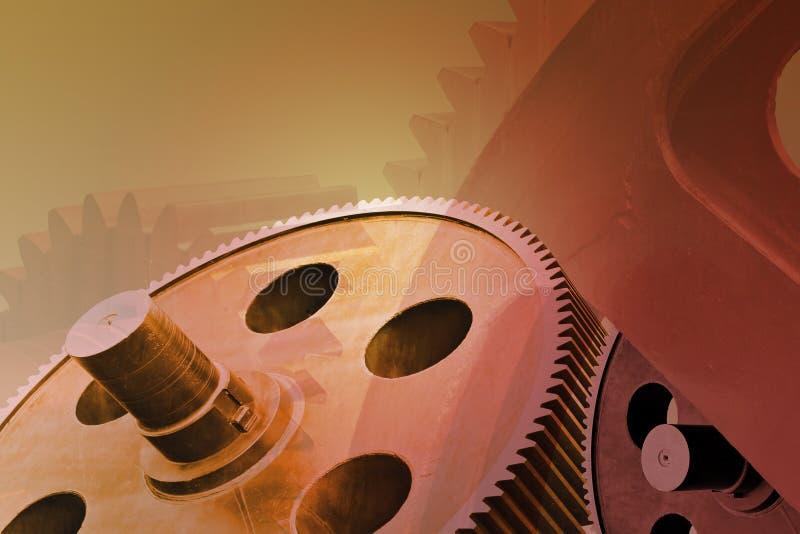 Räder der Industrie lizenzfreie abbildung